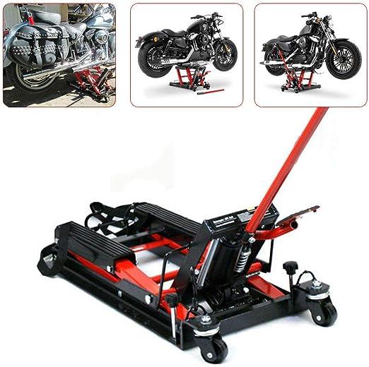 Gato hidráulico genérico, 680 kg, elevador de motocicleta, plataforma elevadora para moto: Amazon.es: Coche y moto