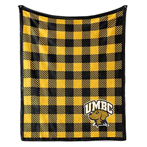 Venley NCAA University of Maryland Baltimore County Retrievers Fleece Blanket, 50