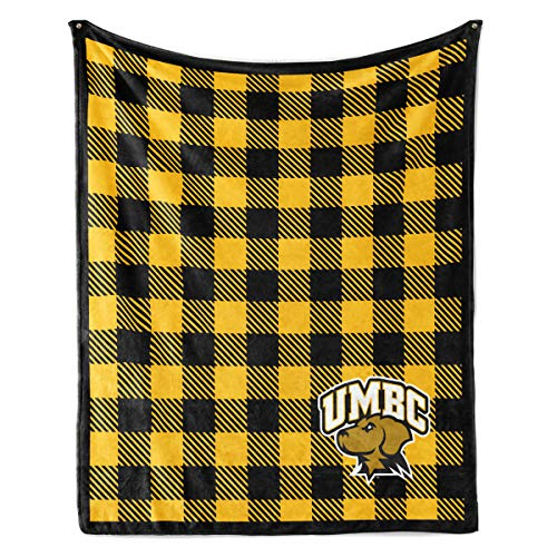 NCAA University of Maryland Baltimore County Retrievers Unisex Official NCAA UMBC Retrievers - Fleece Blanket - 30X40Official NCAA UMBC Retrievers - Fleece Blanket - 30X40, Multicolor, 30