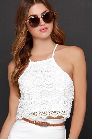fced2146c856e6 YITAN Women s Fashion Funny Tees Graphic Loose T shirt Cute Relaxed Split Crop  Top
