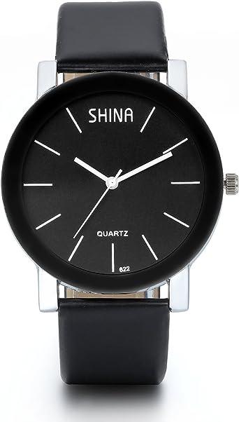 JewelryWe Reloj de pulsera de hombre para reloj asunto