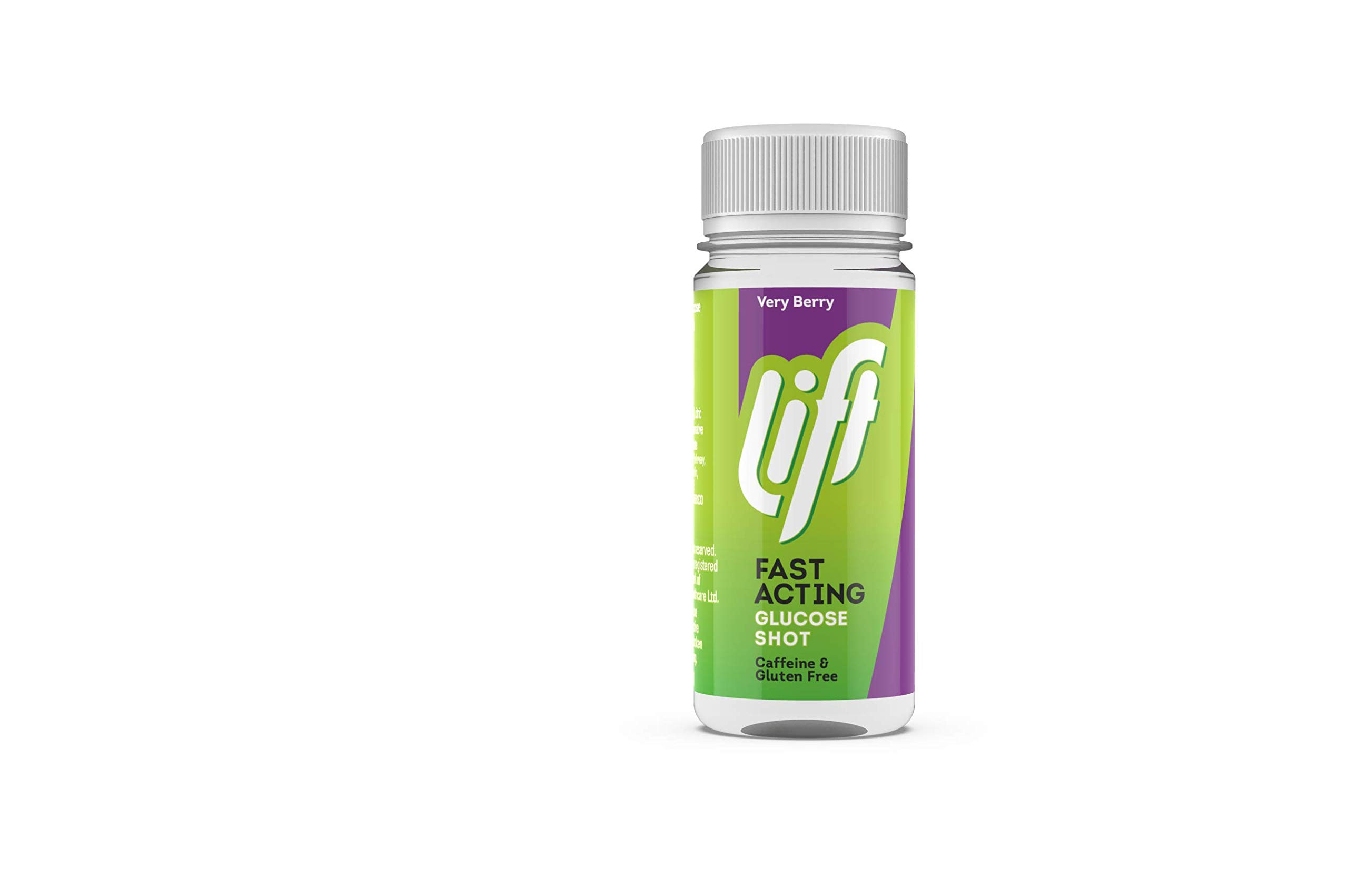 Lift | Fast-Acting Glucose Energy Juice Shots | Very Berry | 12 Pack of 60ml Bottles
