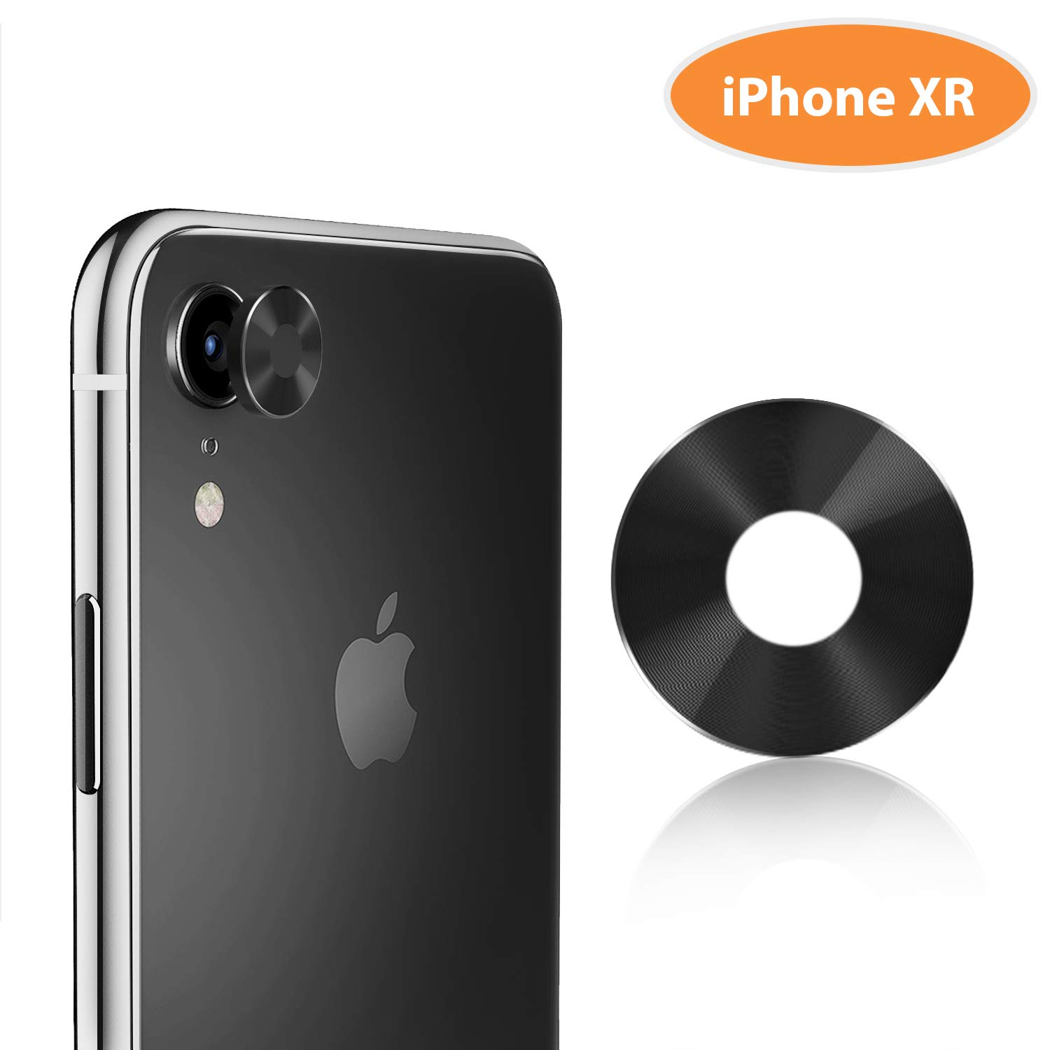 "cheaper a471f c1698 TINICR iPhone XR Camera Lens Protector Ultra Thin Metal [Not Glass] Back  Rear Camera Lens Screen Cover Case Shield Compatible for iPhone XR 6.1"" ..."