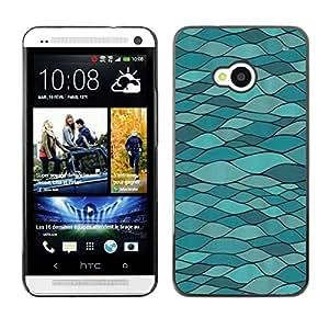 Be Good Phone Accessory // Dura Cáscara cubierta Protectora Caso Carcasa Funda de Protección para HTC One M7 // Modern Art Road Structure Architecture