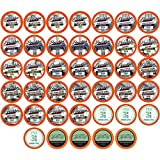 Two Rivers Decaf Sampler Pack Single-Cup Coffee for Keurgi K-Cup Brewers, 40 Count