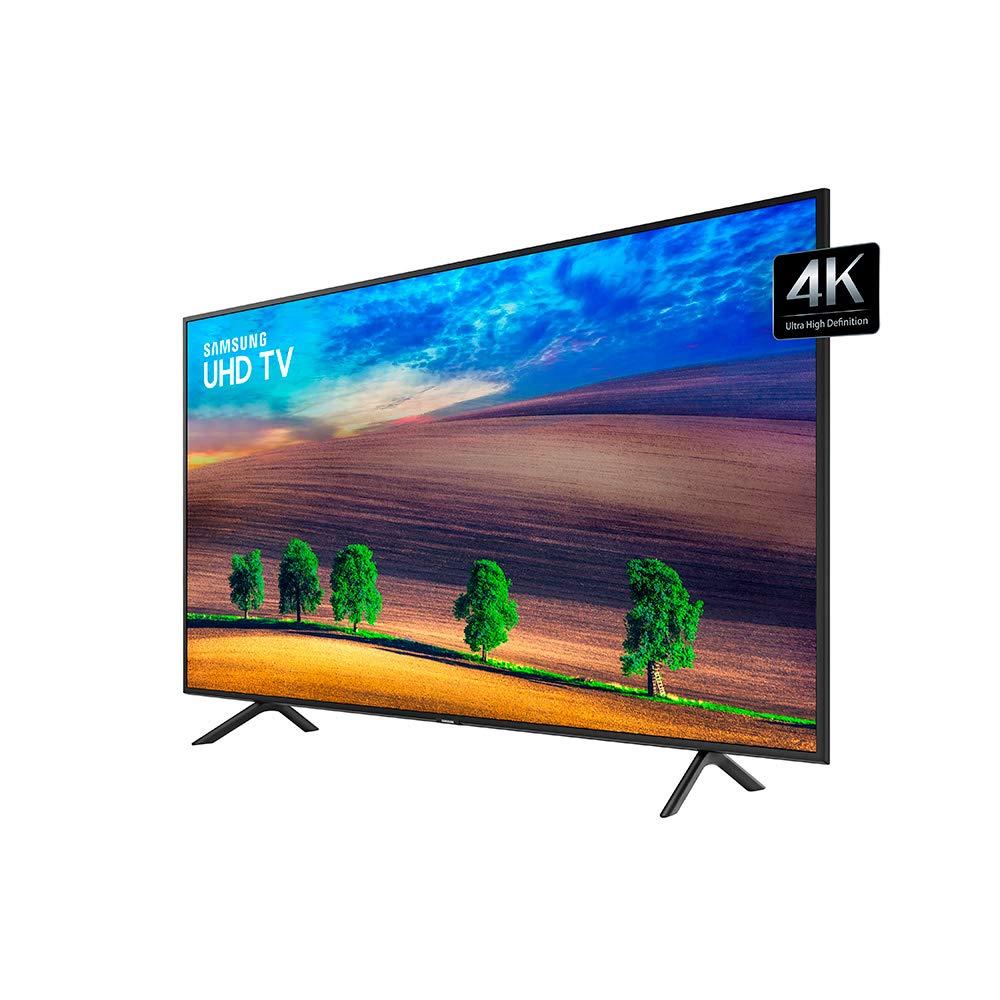 fe7317560b7ce Smart TV LED 4K UHD 75   Samsung NU7100 com Visual Livre de Cabos ...