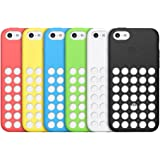 Apple MF035ZM/A Silicone Case for Apple iPhone 5C (Blue)