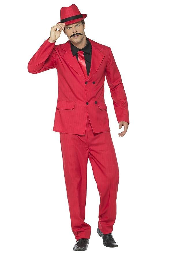 1940s Men's Costumes: WW2, Sailor, Zoot Suits, Gangsters, Detective Smiffys Mens Zoot Suit $56.99 AT vintagedancer.com