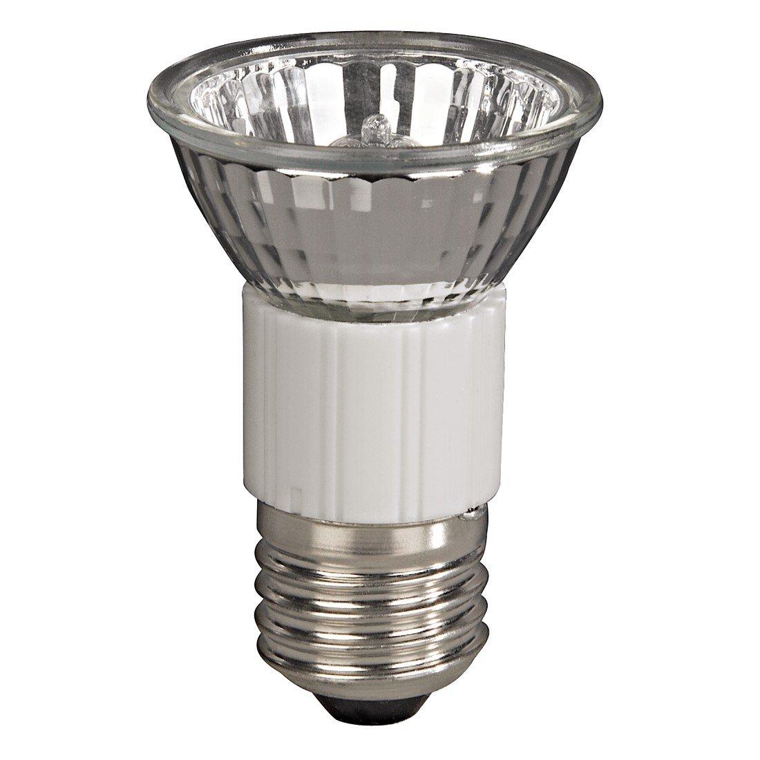 Warmwei/ß 35 Watt Dimmbar Fassung E27 Strahler JDR Reflektorform Xavax Hochvolt-Halogen-Lampe f/ür gro/ße Einbauleuchten Spots