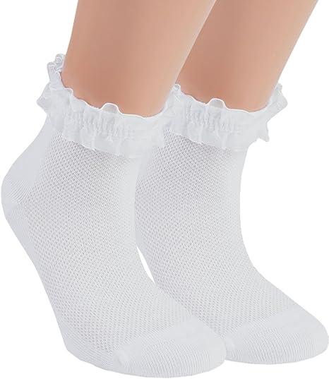chaussettes filles Lot 6 paires chaussettes enfant