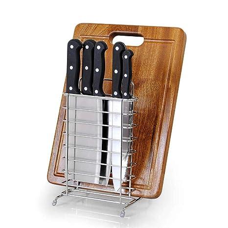 Cuchillo De Cocina De Acero Inoxidable 304 Porta Cuchillos ...