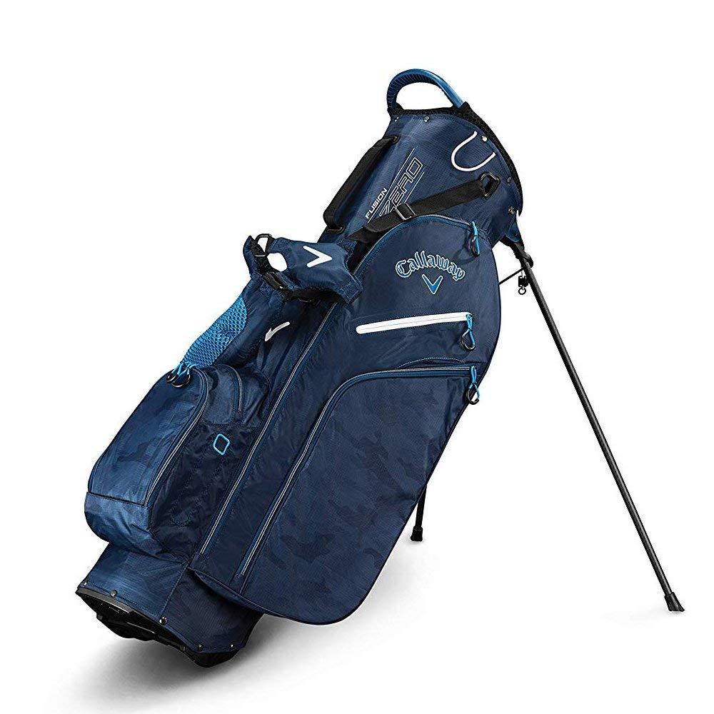 Callaway Golf 2019 Fusion Zero Stand Bag, Navy Camo by Callaway