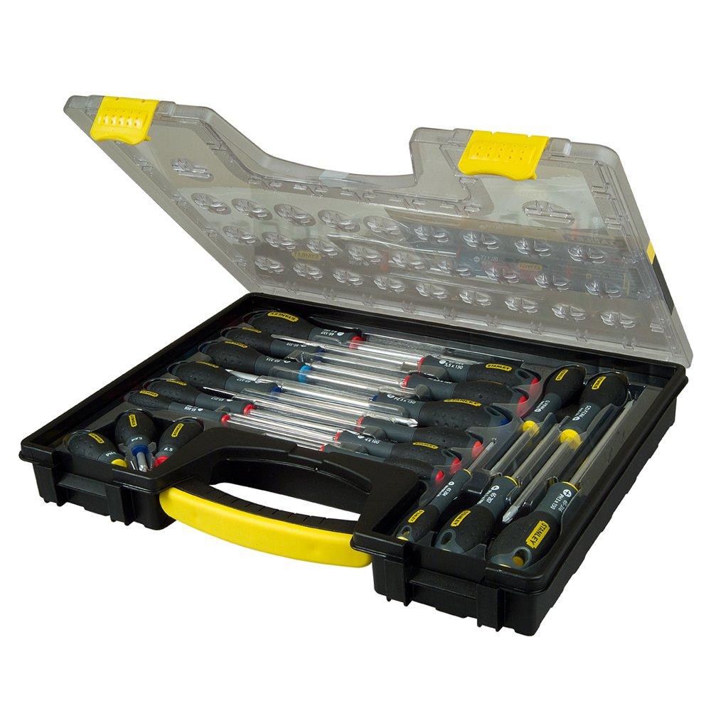 Stanley - Fatmax Screwdriver Set Parallel/Flared /Phillips /Pozi 20 Piece