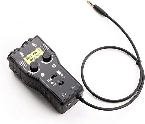 Interfaz de micrófono y guitarra de dos canales Saramonic SRSMARTRIG2: Amazon.es: Instrumentos musicales
