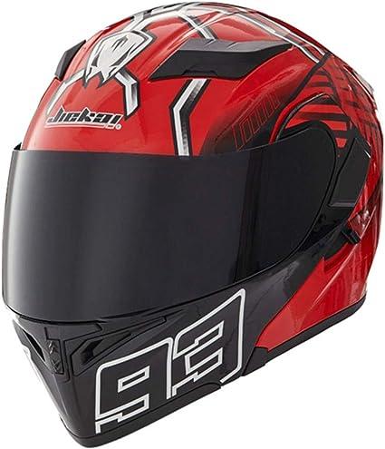 Amazon.es: Off-Road Moto Motocicleta Casquillo abatible Unisex ...