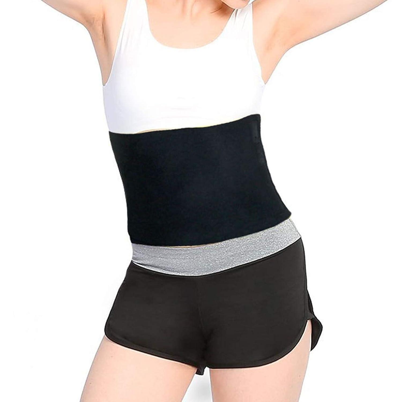 d9d607ebc8e4a Frackkon Magnetic Slimming Massager Belt Vibration Tummy Control Shapewear  Stomach Fat Burner Sauna Suit Cincher Fat Cutter Tummy Tucker Waist Weight  Loss ...