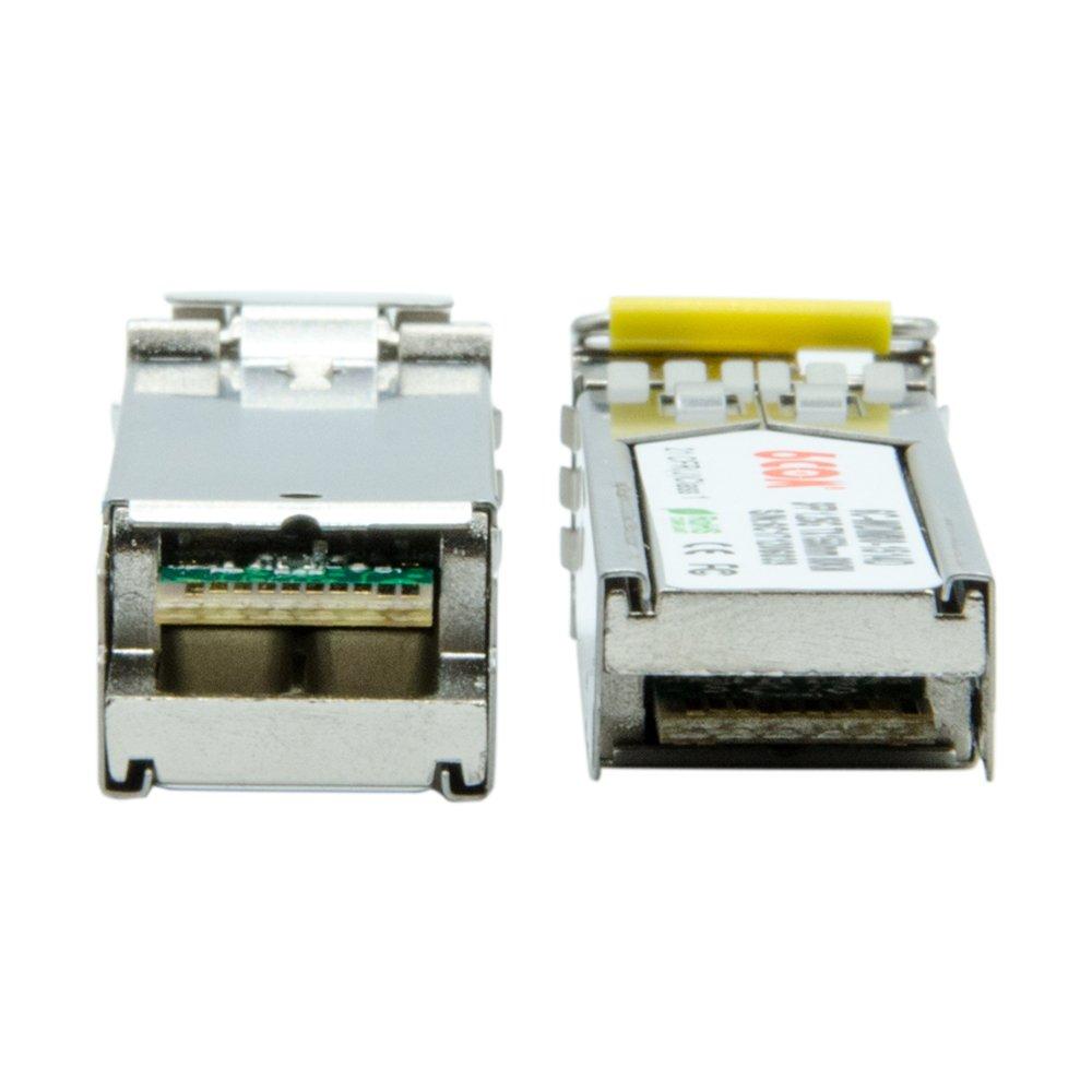 100m 1000Base-T Copper SFP Transceiver RJ45 Connector 6COM para Netgear AGM734-10000S