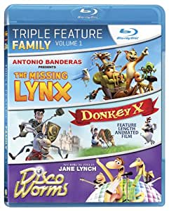 Family Triple Feature Volume 1 [Blu-ray]