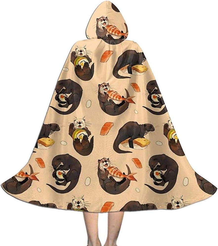 OKME Custom Capa De Bruja,Tiny Sushi Otter Disfraces con Capucha ...