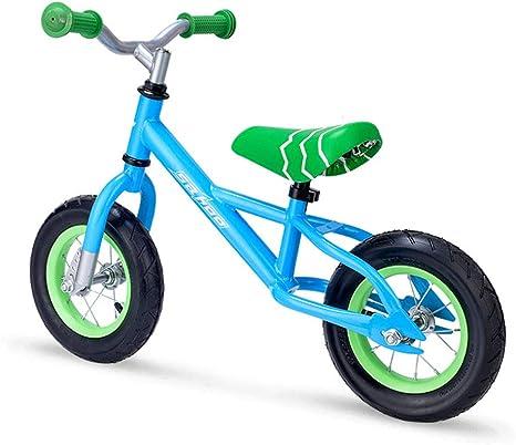 XUE Bicicleta de Equilibrio, para los niños Marco de Aluminio no Pedal niño Aprendizaje Bicicleta 2 para 6 años de Entrenamiento Deportivo Bicicleta Ajustable Manillar y Asiento Pesa sólo 6KG,Blue: Amazon.es: Deportes