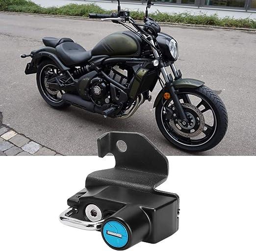 Motorrad Helmschloss Motorrad Aluminiumlegierung Helm Schloss Montage Haken Fit Für S 2015 2019 Montage Zubehör Enthalten Auto