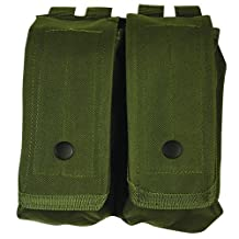 Fox Outdoor Products AR-15/AK-47 Dual Mag Pouch Olive Drab