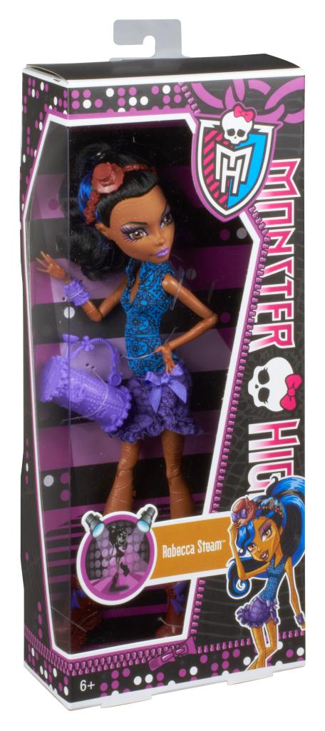 Monster high dance class robecca steam doll dolls amazon canada - Monster high robecca steam ...