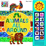 img - for Eric Carle Animals All Around: Mini Deluxe Custom Frame Sound Book book / textbook / text book