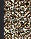 Sketch Journal: Animal Print Mandala 8x10 - Pages