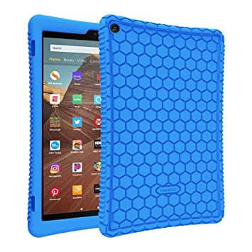 Amazon.com: Fintie - Carcasa de silicona para tablet Amazon ...