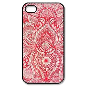 Red CUSTOM Case Cover for iPhone 5/5s LMc-75605 at LaiMc