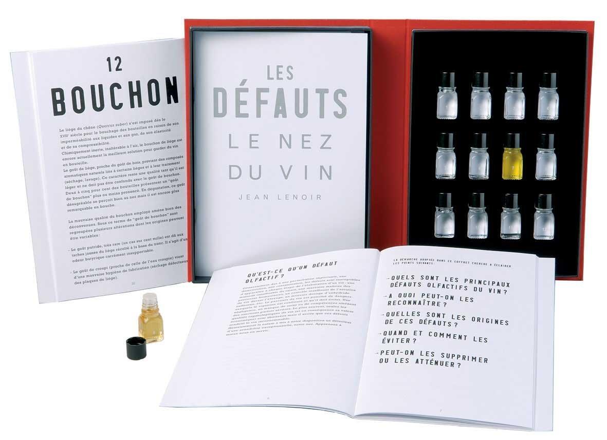 Le Nez du Vin : Les Défauts (Faults) 12 arômes (en anglais) (coffret cartonné)