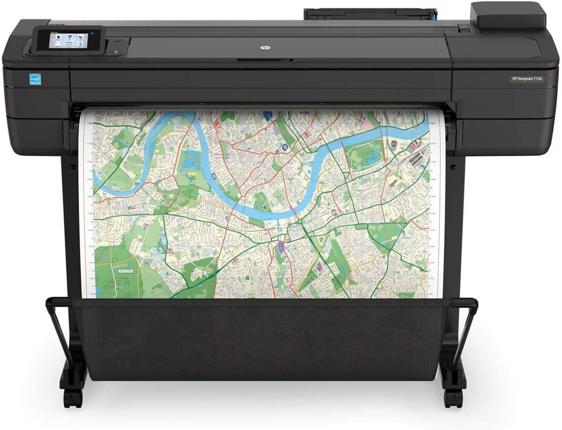 HP DesignJet T730 Large Format Printer, 36