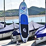 Goplus 11' Inflatable Stand Up Paddle Board Package w/Fin...