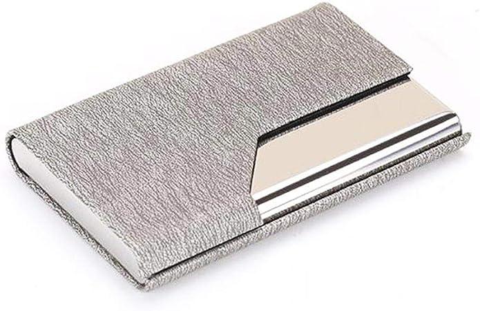 Estuche para tarjetas de visita Estuche para tarjetas Estuche de tarjetas Caja de tarjetas de gran capacidad Estuche para tarjetas portátil Caja de almacenamiento de tarjetas Soporte de tarjeta de vis: Amazon.es: