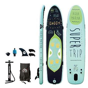 Amazon.com: YONGMEI - Tabla de surf inflable de material ...