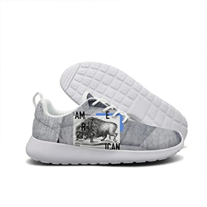 United States of America Buffalo young men cool running shoes custom Lovely
