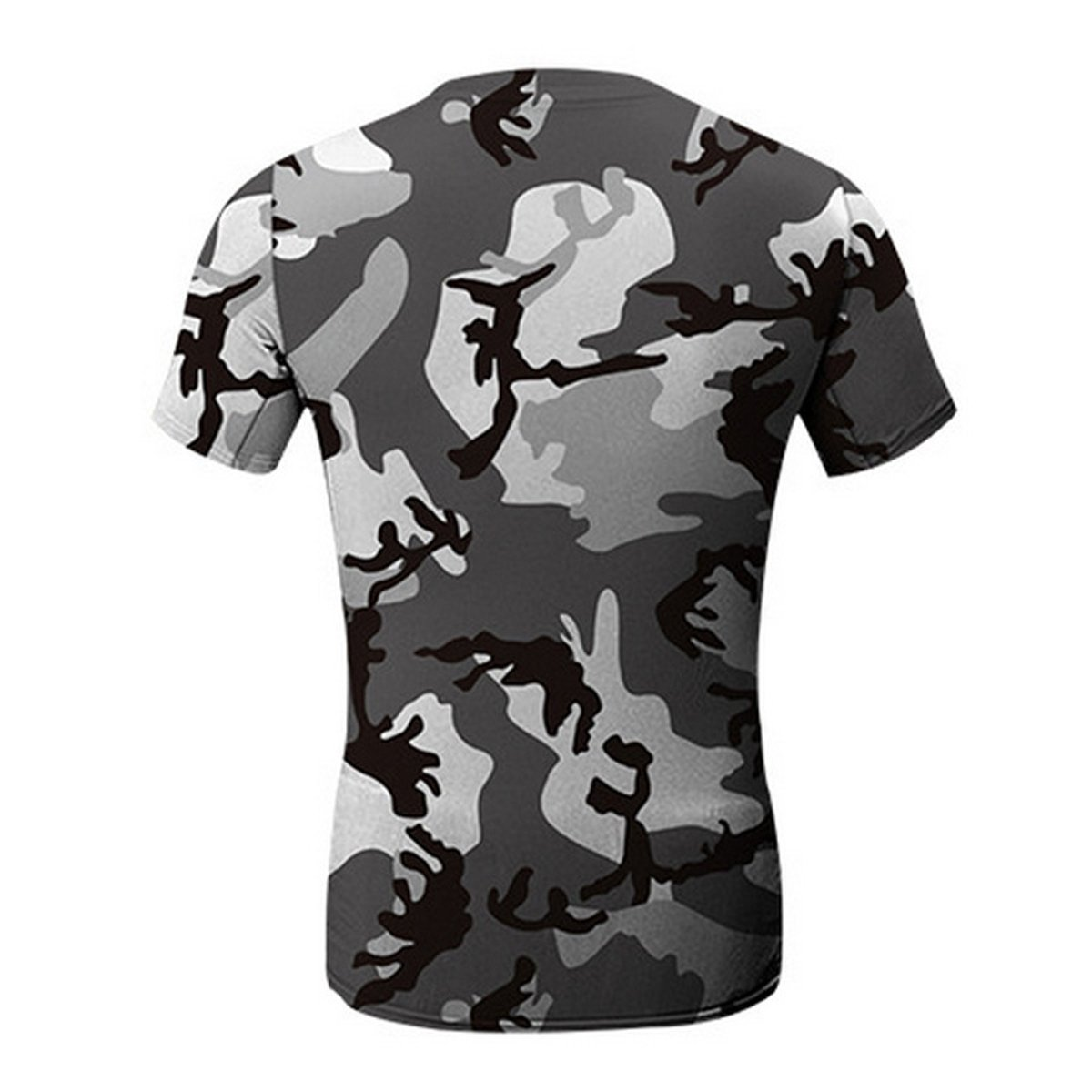 Allywit Men Blouse,Funny Men Printing 3D Skull Shirt Short Sleeve T Shirt Blouse