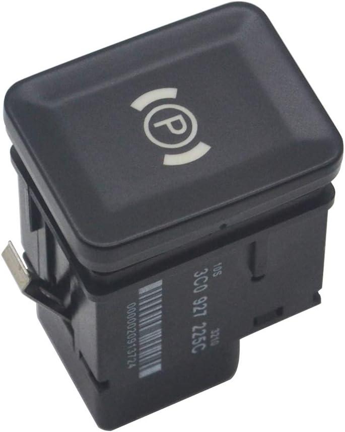 ZEALfix Bouton de Frein de Frein de stationnement /électronique EPB 3C0927225C pour Passat B6 CC 3C