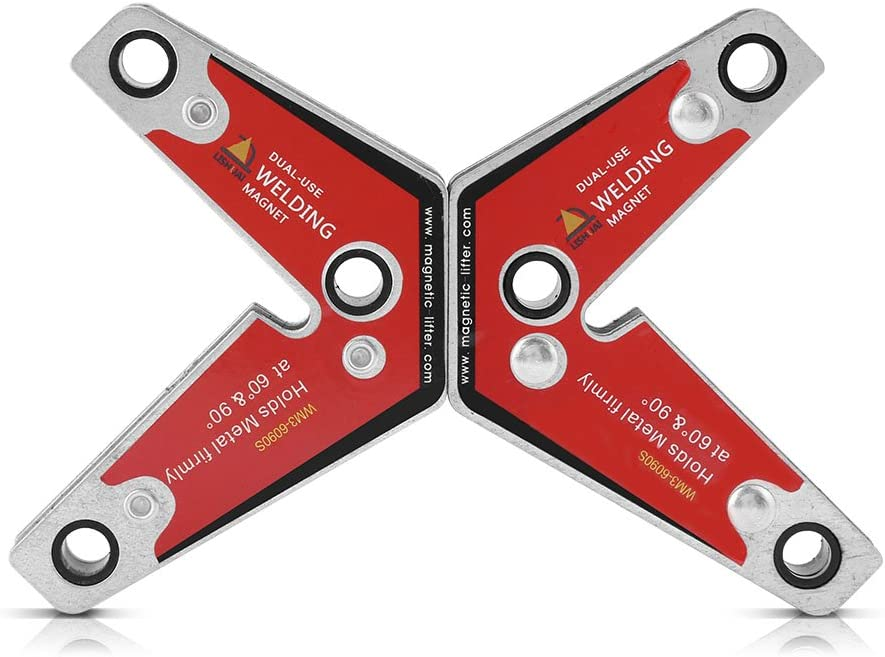 MW3-6090S 60°90° Magnetic Holder Twin Pack//Strong Magnetic Welding Square