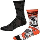 Star Wars Force Awakens BB-8 Crew Socks,Multi,Shoe: 6-12