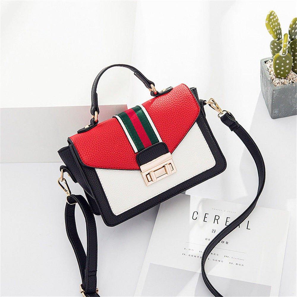 SJMMBB Satchel Bag Handbag,Gules,22X15X10Cm