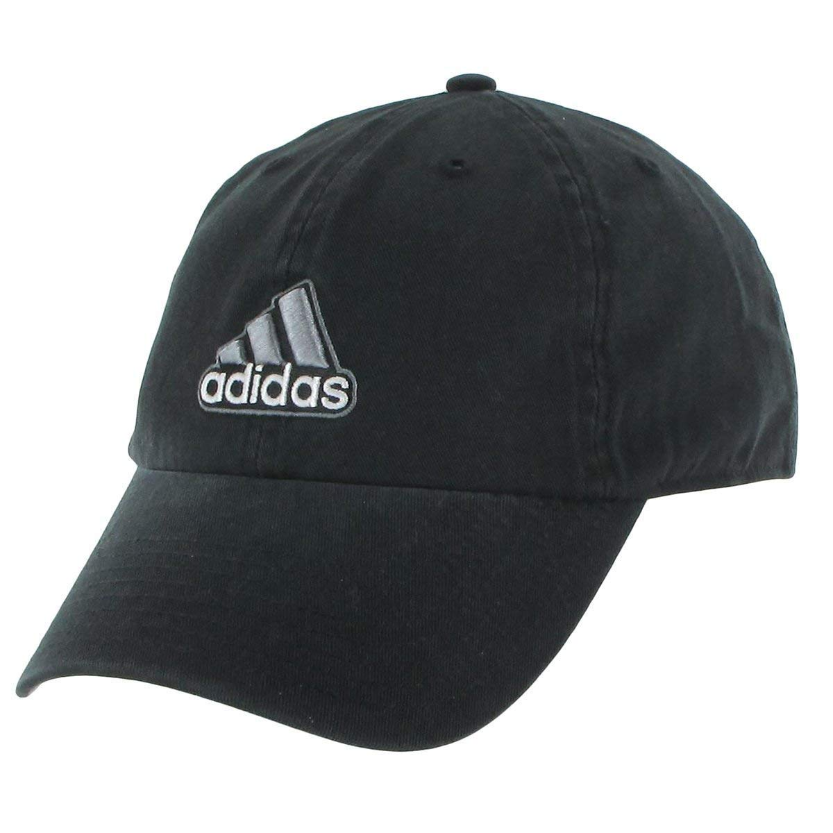 adidas Ultimate Relaxed Adjustable Cap (Black Grey) Twill