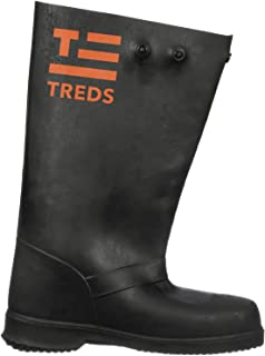 """product image for TREDS Super Tough 17"""" Pull-On Stretch Rubber Overboots for Rain, Slush, Snow and Construction, Size XX-Large"""
