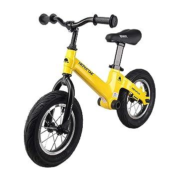 L.TSN Bicicleta para Niños Estilo Libre Equilibrio 12