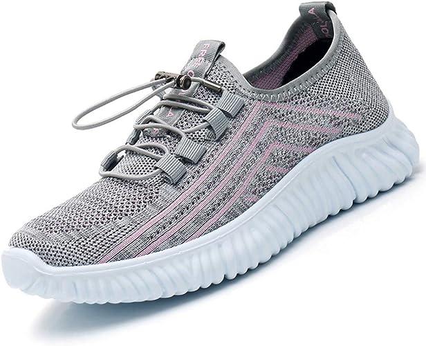 Zapatillas Deportivas para Mujer Zapatos cómodos de Deslizamiento ...