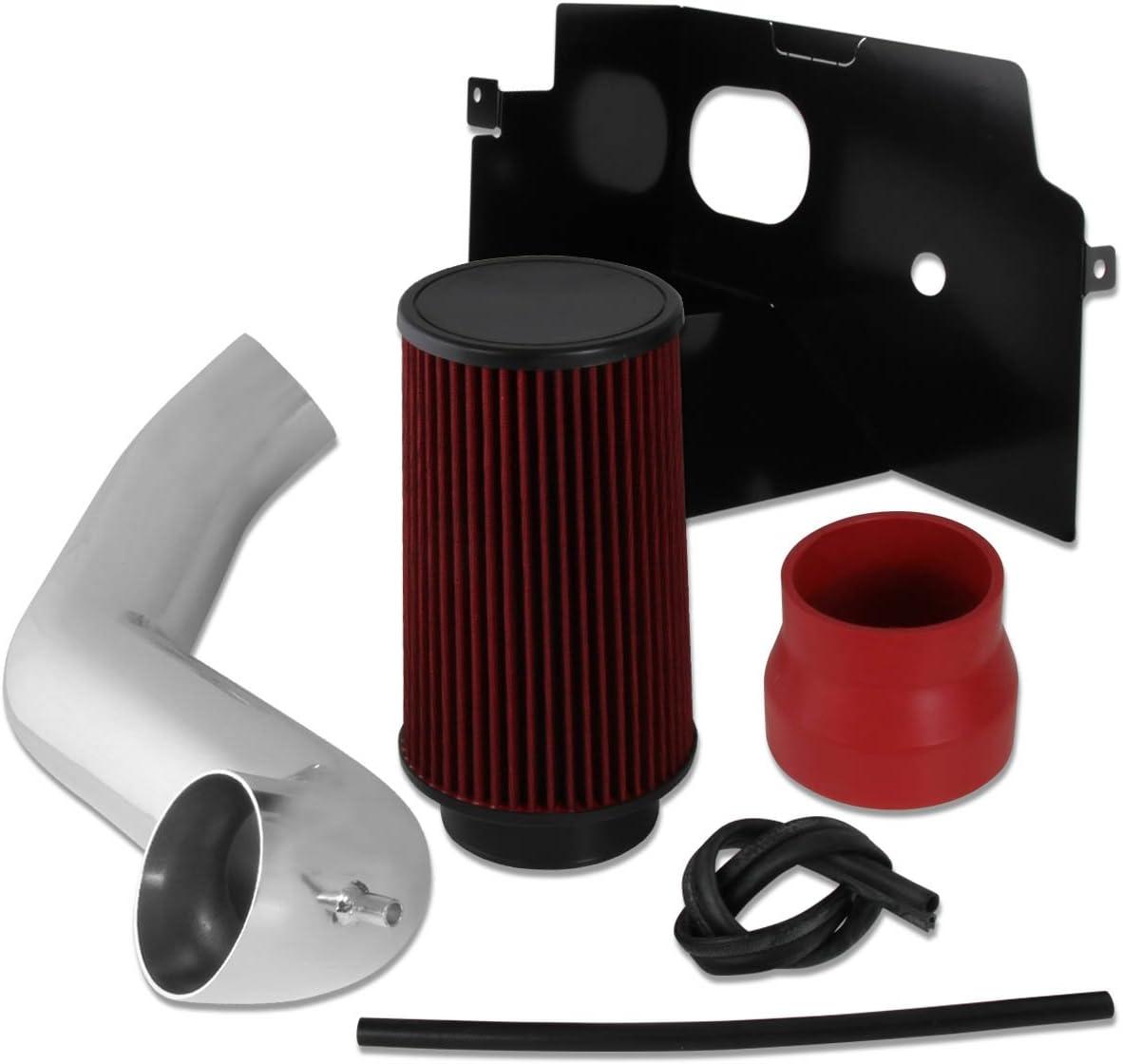 Cold Air Intake Kit+Heat Shield for 02-08 Dodge Ram 1500 2500 4.7L 5.7L V8 Blue