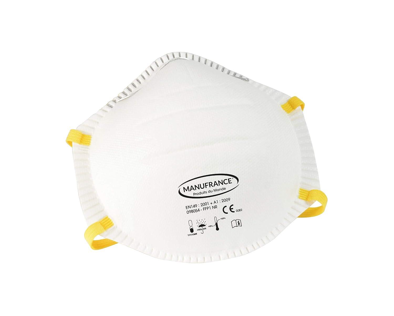 FFP1 - Lote de 3 máscaras antipolvos para manicura del mundo 98054