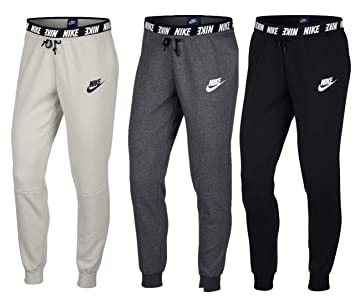 huge selection of 20c4d 2ad27 Nike Womens Hose Sportswear Modern Trousers, Charcoal HeathrWhit, ...