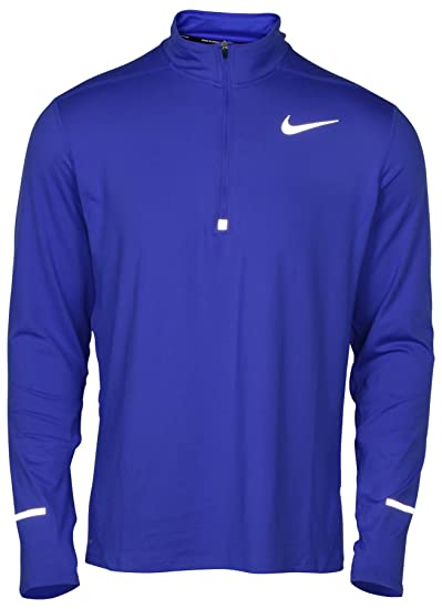 new style 41be1 1edc0 NIKE Mens Dry Element Running Top (Small, Game Royal)